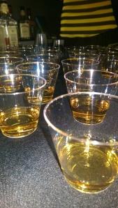 Honey whiskey great idea!