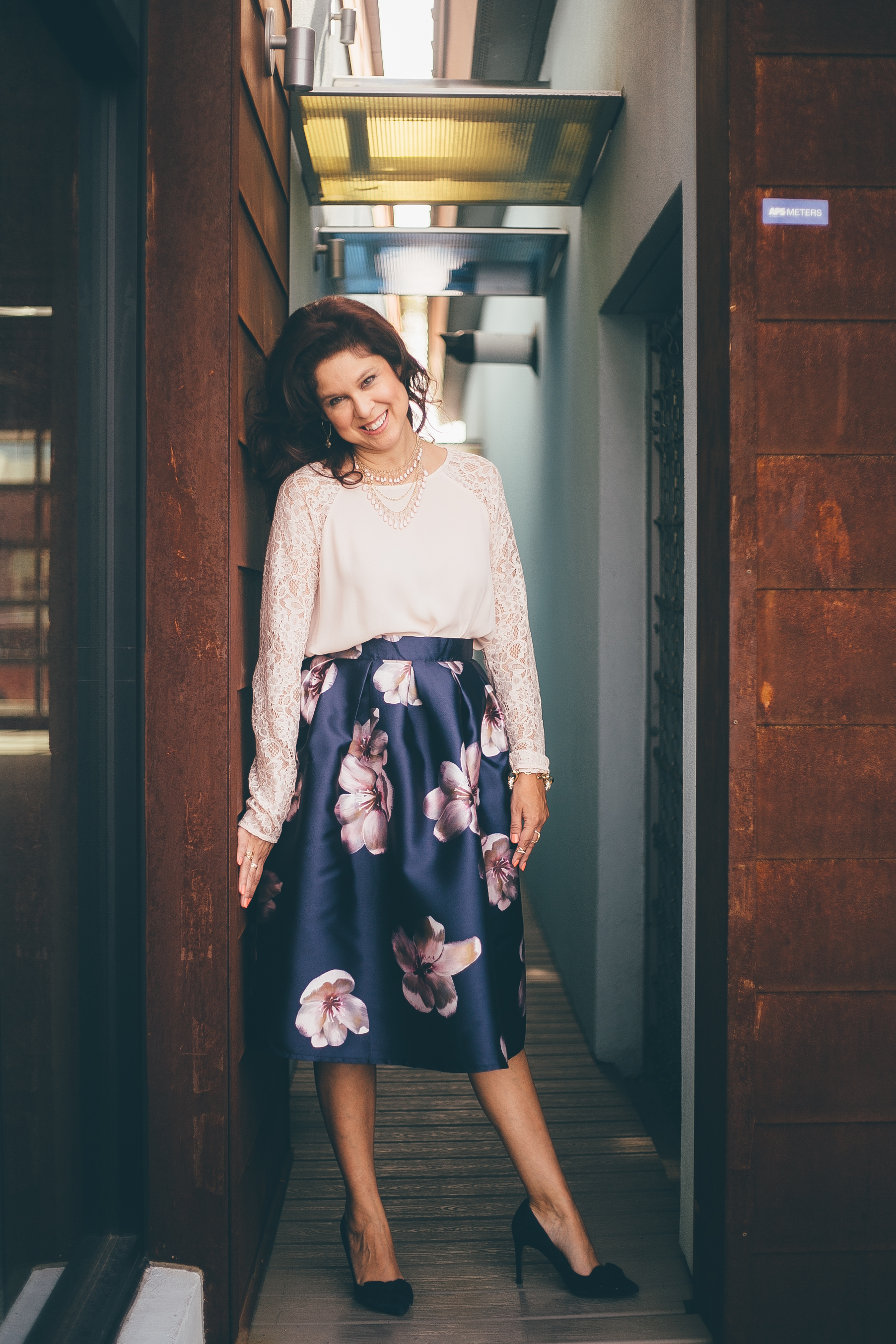 Spring Floral Midi Skirts – All The Prettys